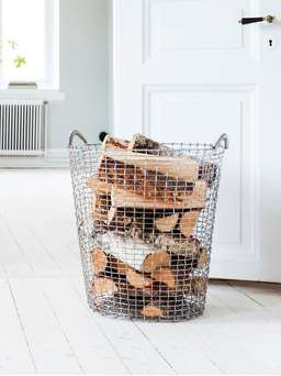 Nordic House Heirloom Hand-Woven Basket - 80L
