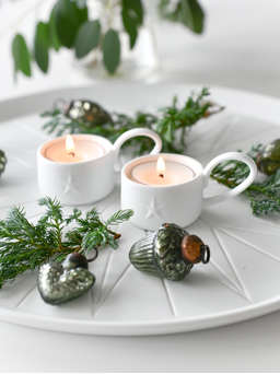 Nordic House Little Porcelain Starlight Set
