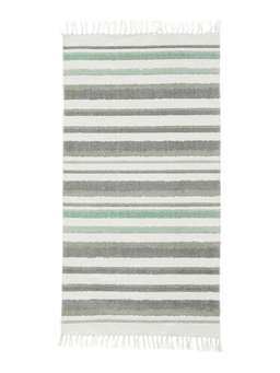 Nordic House Striped Cotton Rug
