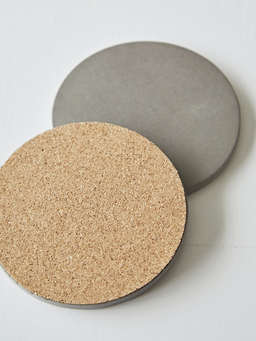 Nordic House Concrete Coaster Set