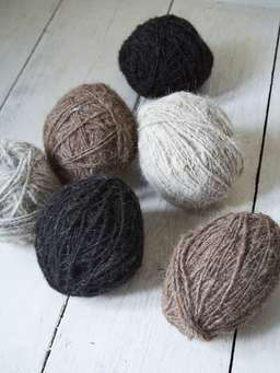 Nordic House Large Wool Decor Balls