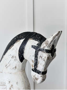 Nordic House Decorative Vintage Rocking Horse - XL