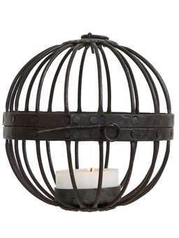 Nordic House Small Rusty Cage Lantern