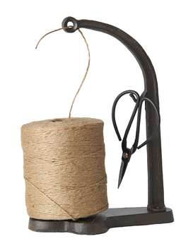Nordic House Wrought Iron Jute String Set - L