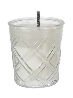 Nordic House Glass Outdoor Candle  - Linear
