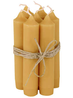 Nordic House Bistro Candle Set - Mustard