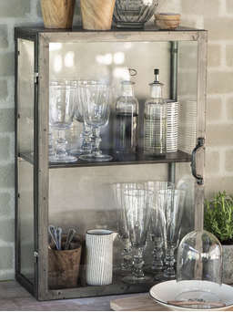 Nordic House Vintage Display Cabinet