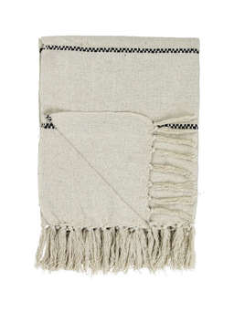 Nordic House Vigga Cotton Throw