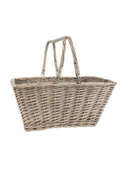 Nordic House Rattan Basket with handles