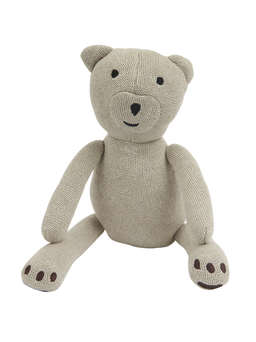 Nordic House Gorgeous Knitted Teddy
