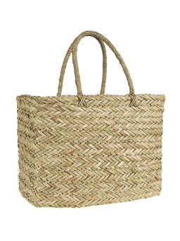 Nordic House Large Seagrass Tote Bag