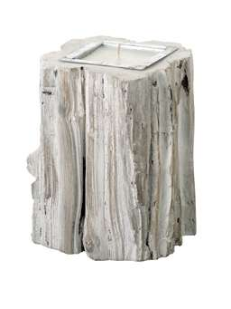 Nordic House Whitewashed Candle Logs