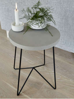 Nordic House Concrete Side Table