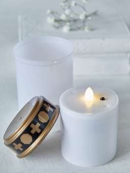 Nordic House LED Memory Candle
