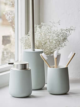 Nordic House Soft Mint Toothbrush Mug