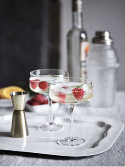 Nordic House Tillie Champagne Coupes