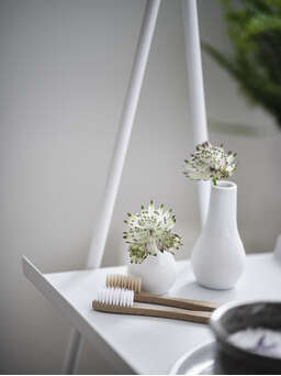 Nordic House White Display Stand
