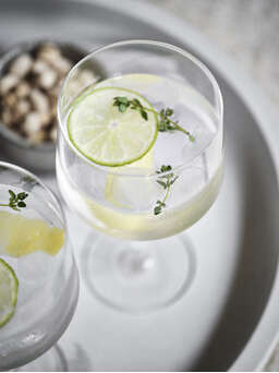 Nordic House Tillie Wine and Gin Glasses