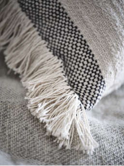 Nordic House Supersoft Washed Cotton Cushion