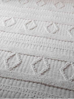 Nordic House Textured Ivory Rug