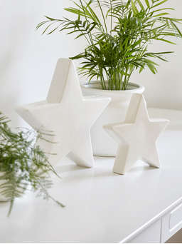 Nordic House Decorative White Stars