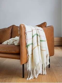 Nordic House Handwoven Bergen Throw