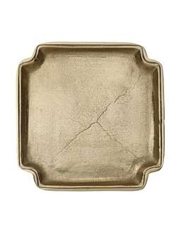 Nordic House Antique Gold Tray