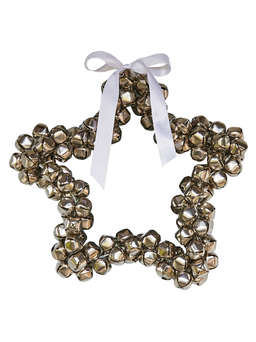 Nordic House Star Bell Wreath