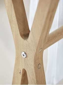 Nordic House Classic Wooden Towel Rail