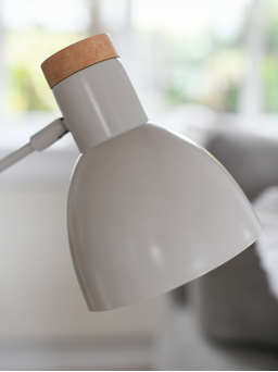 Nordic House Chalk White Table Lamp
