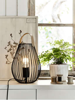 Nordic House Cage Table Lamp