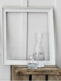 Nordic House Timeless Glass Carafe