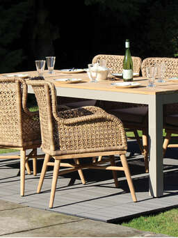 Nordic House Reclaimed Teak Dining Table