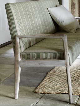 Nordic House Sundby High Back Bench - Living Spaces