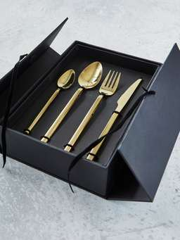 Nordic House Soft Gold Cutlery