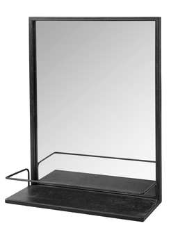 Nordic House Industrial Metal Shelf Mirror