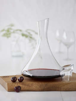 Nordic House Bubble Glass Decanter
