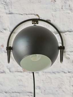 Nordic House Black Table/Wall Lamp