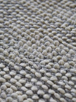 Nordic House Grey Melange Wool Rug