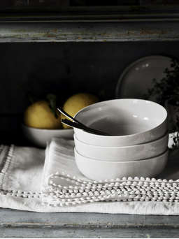 Nordic House Artisan Grey Tableware