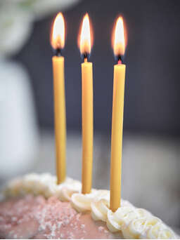 Nordic House Beeswax Birthday Candles