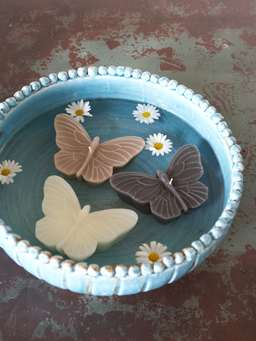 Nordic House Floating Butterfly Candle