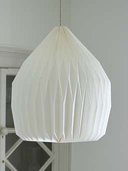 Nordic House White Paper Lampshades