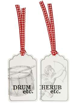 Nordic House Scandi Gift Tags