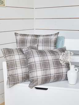Nordic House Nordic Plaid Cushion