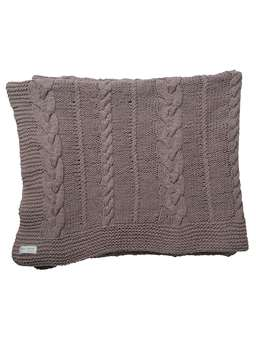 Nordic House Vintage Rose Throw