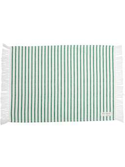 Nordic House Green & White Table Linen