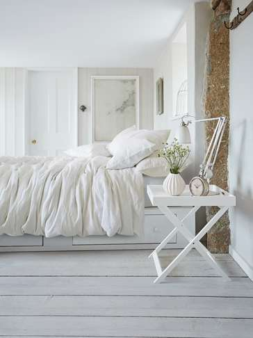 Artisan Linen Bed Set - White