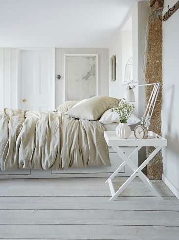 Artisan Linen Bed Set - Natural