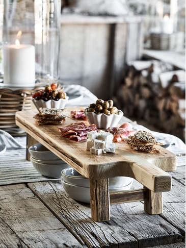 Reclaimed Wood Tapas Board